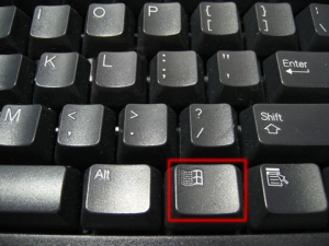 Right Windows key