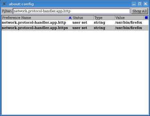 Thunderbird Config Editor - modified